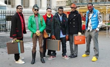 Kanye in Paris
